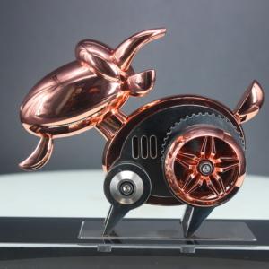 十二生肖羊 机械模型 不锈钢羊拼装模玩