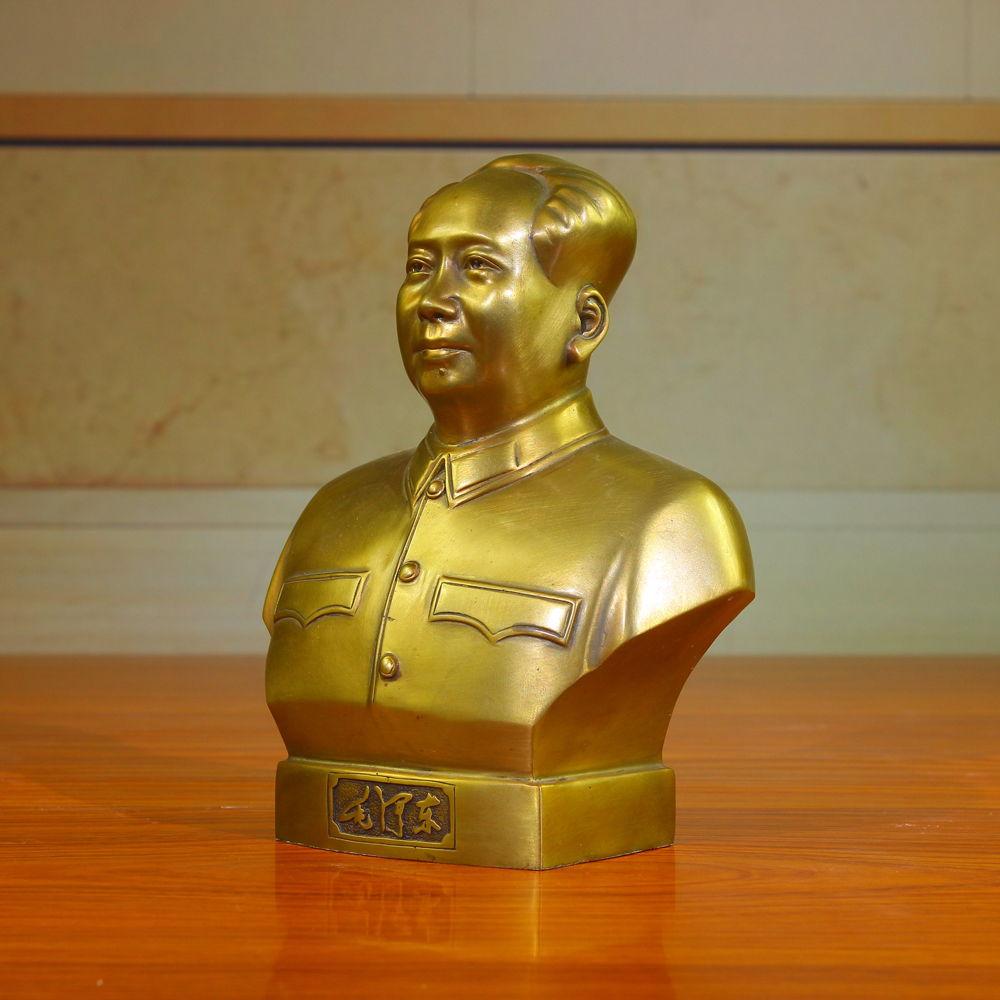 毛主席铜像 毛泽东伟人铜像